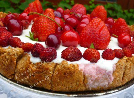 Cheesecake alle fragole senza cottura | ricette presidio  slow food | il fantastico mondo di Alessandra