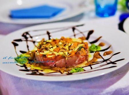 Tartara di tonno giallo zafferano |Antipasto internazionali | Il fantastico mondo di Alessandra