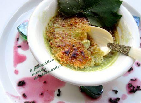 Ricetta creme brulee – al tè verde |Il fantastico mondo di Alessandra