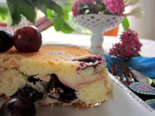 Torta all'uva ricetta   Il fantastico mondo di Alessandra