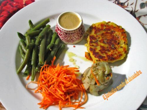 Hamburger di tofu e verdure  Ricette vegan  Il fantastico mondo di Alessandra