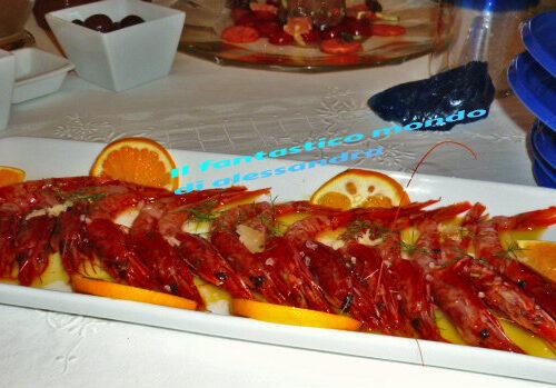 Gamberi rossi ricette |Il fantastico mondo di Alessandra