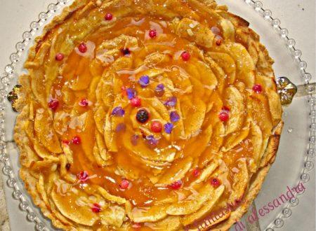 Crostata di mele ricetta   con ricotta   Il fantastico mondo di Alessandra