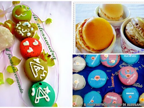 Ricettario pdf macarons con ganache | Il fantastico mondo di Alessandra