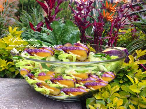 Insalata esotica con spinaci e semi di amaranto | ricette vegane