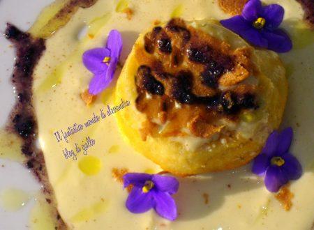 Flan di Baccala |Con fonduta di canestrato Pugliese| Ricette di pesce