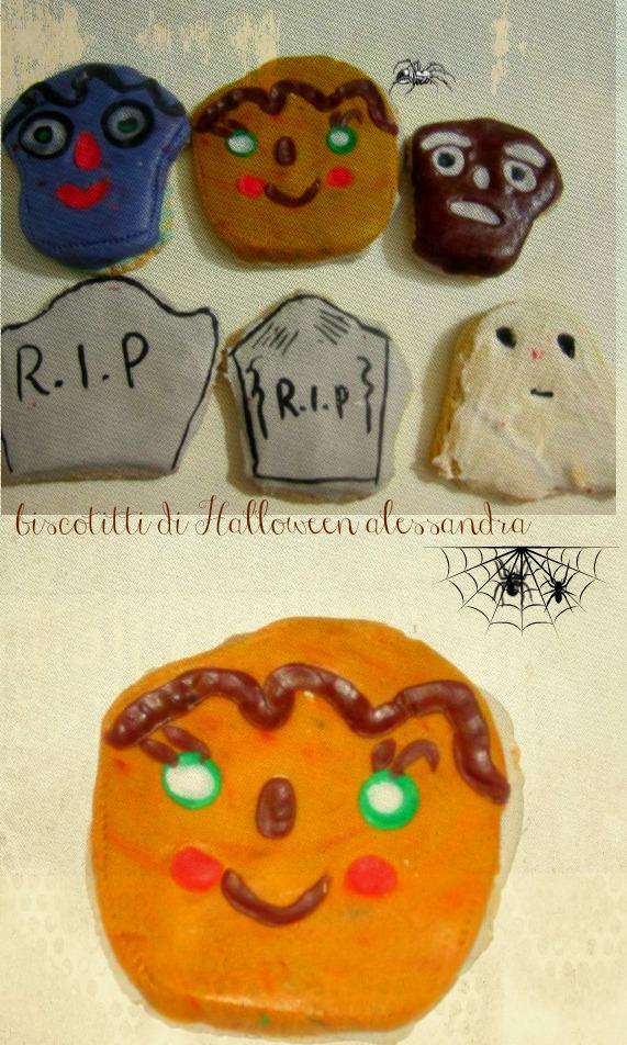 biscotti paurosi halloween alessandra castillo
