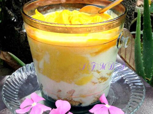 Dessert di mango | con aloe vera | Il fantastico mondo di Alessandra
