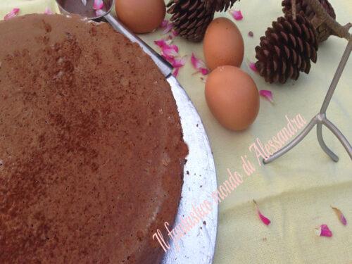 Pan di spagna al cioccolato | Il fantastico mondo di Alessandra