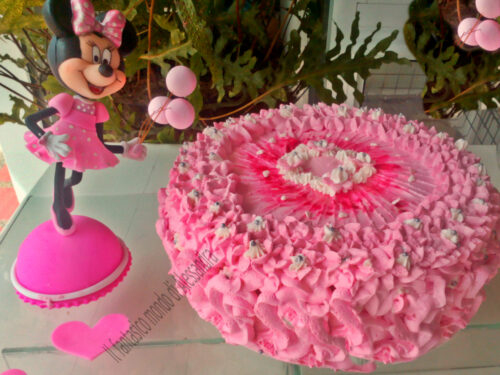 Torta di compleanno con Minnie  Il fantastico mondo di Alessandra