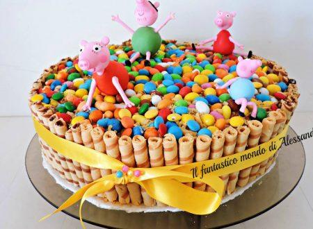 Torta peppa pig | di compleanno  in pasta di zucchero||Il fantastico mondo di Alessandra
