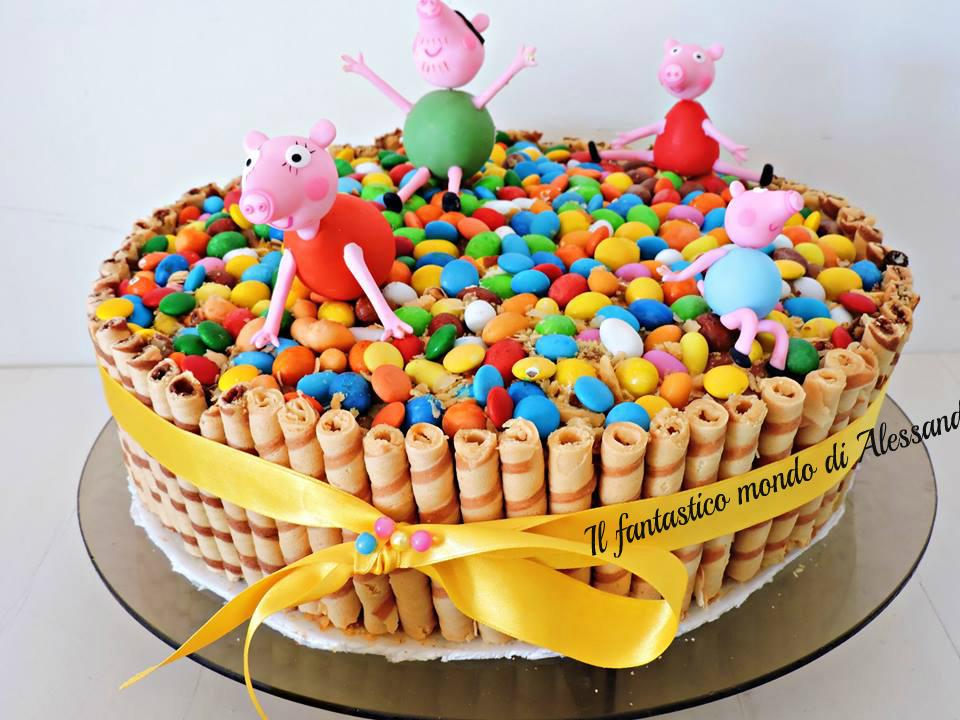 Torta Peppa Pig Ricette Di Completano Per Bambini