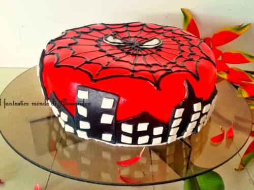 Torta Spiderman cake design – Il fantastico mondo di Alessandra