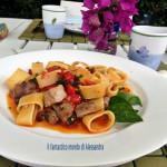 Pasta con tonno fresco | ricette con pesce | Il fantastico mondo di Alessandra
