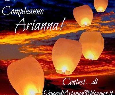 Buon Compleanno Arianna!!!   Contest!