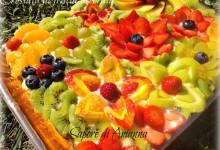Crostata con frutta e crema…Decorata!