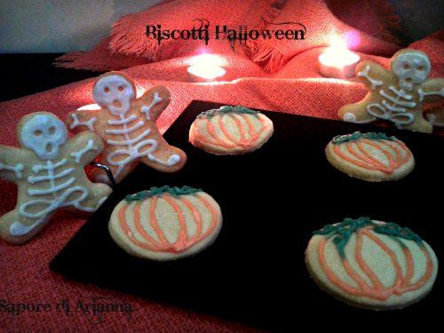 Biscotti per Halloween, scheletri e zucche!! passo passo