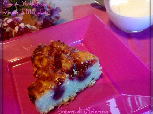 Crostata Morbida con fossette di Marmellata