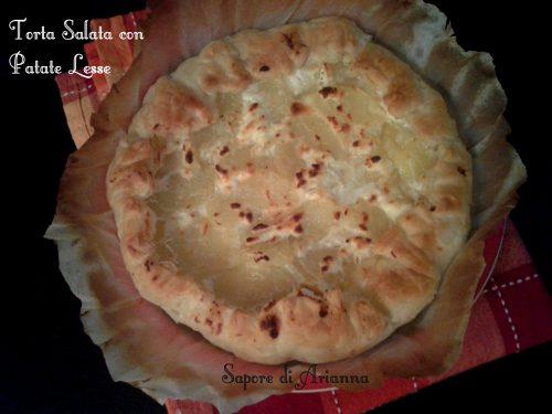 Torta salata con Patate Lesse