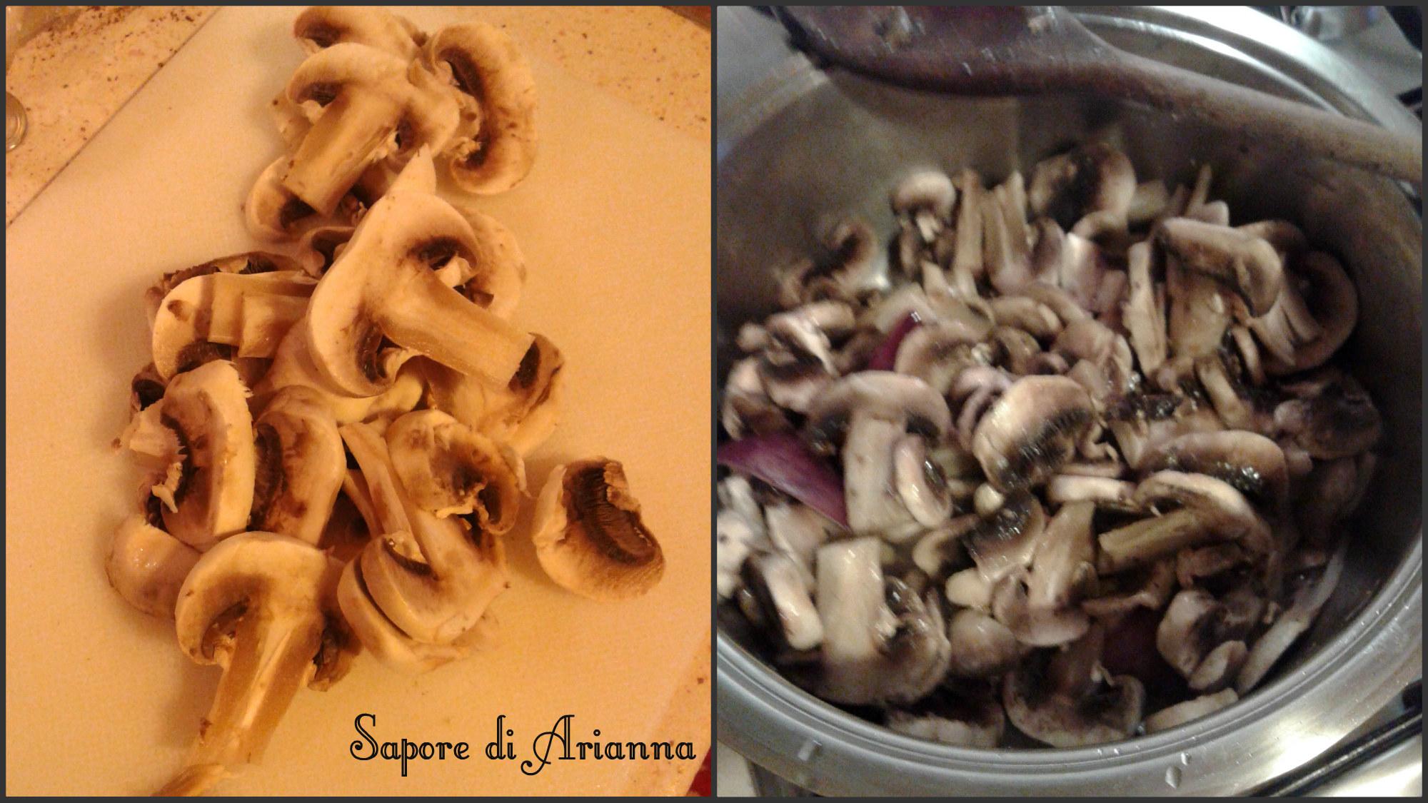 crespelle ai funghi e prosciutto