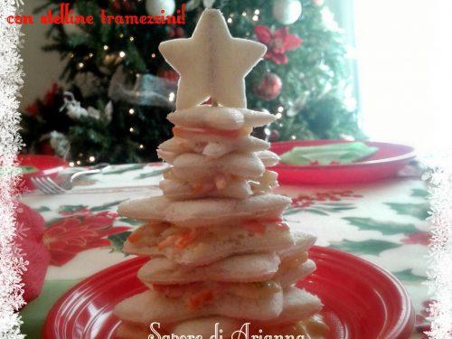 Albero di Natale con stelline tramezzini!