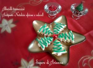 alberelli tramezzini antipasto natalizio