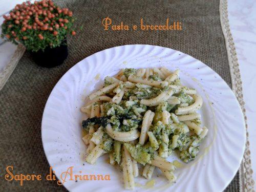 Pasta con broccoli o cavolfiore