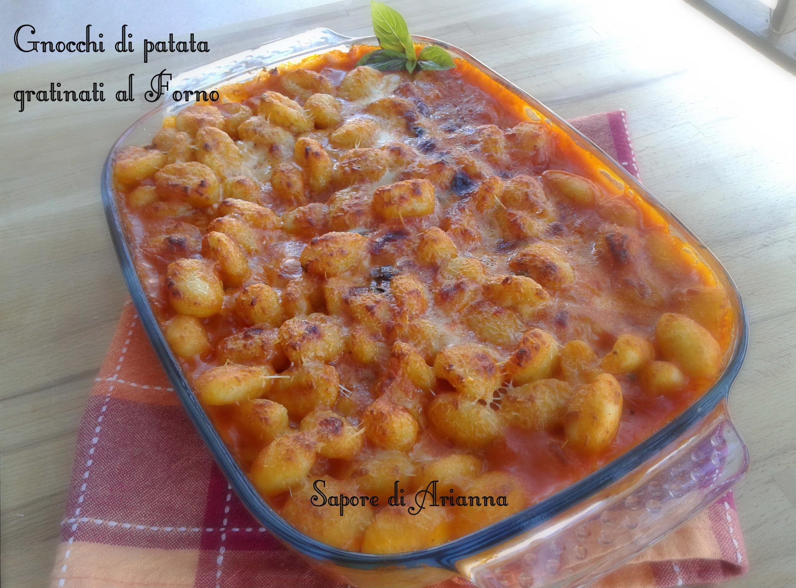 gnocchi di patata gratinati a forno, golosi&veloci   sapore di arianna - Come Cucinare Gli Gnocchi Di Patate