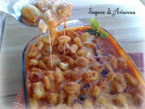 Gnocchi di patata gratinati al forno, golosi&veloci