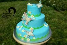 Torta comunione in pdz, Auguri Annalisa!