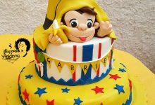 Curioso come George, torta in pdz – Auguri Gabriele!