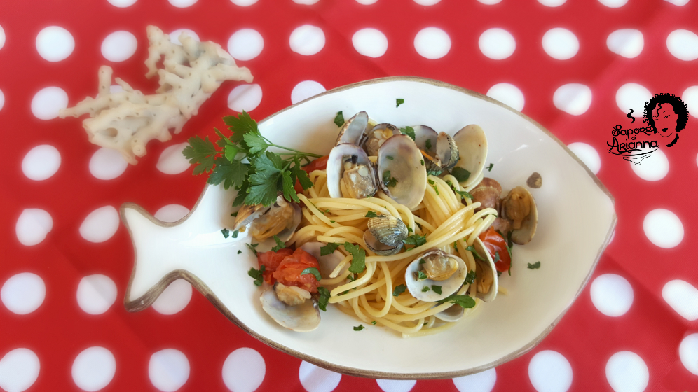 Spaghetti alle vongole e pomodorino
