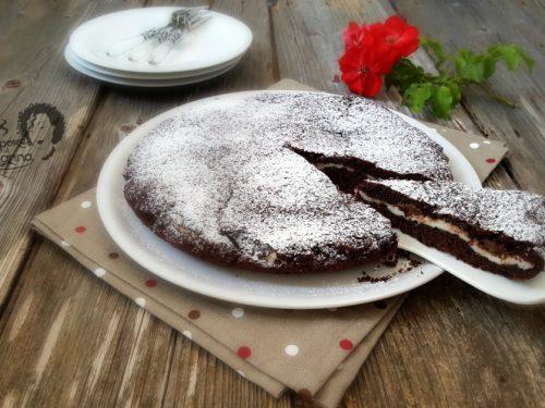 Torta al cioccolato con ricotta e Nutella