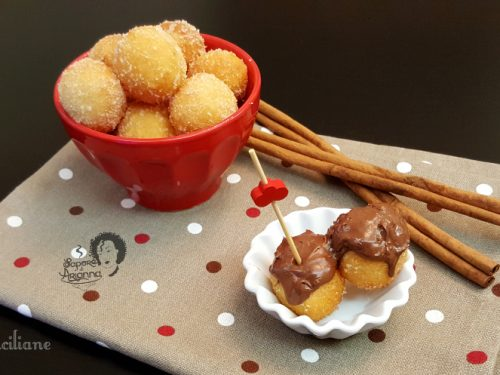 Sfinci siciliane con patate, ricetta originale
