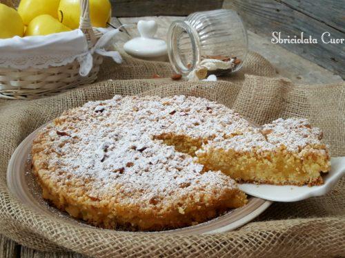 Sbriciolata Cuor di Mela | Torta semplice e veloce.
