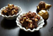 Crema simil Ferrero rocher, senza cottura