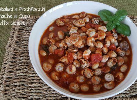 Babbaluci a picchipacchi, lumache con sugo | Ricetta siciliana