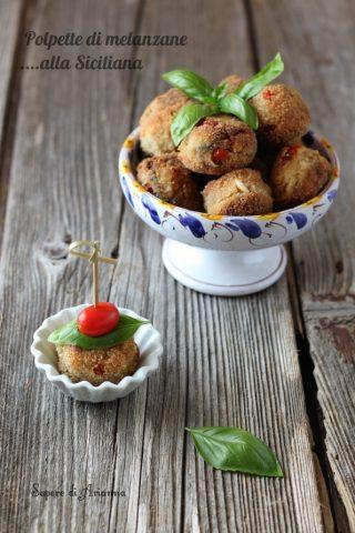polpette di melanzane alla siciliana