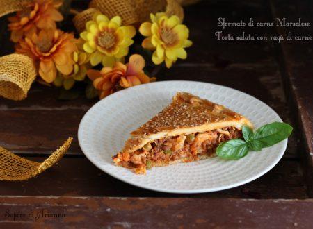 Sformato di carne Marsalese o Torta salata con ragù