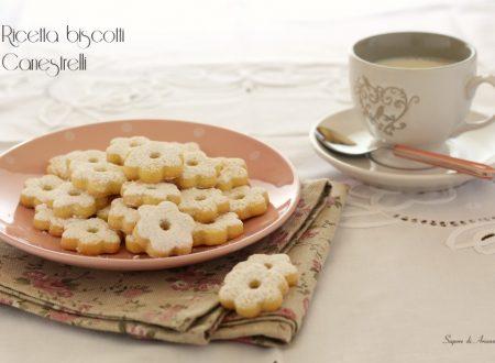 Ricetta biscotti Canestrelli con frolla Ovis Mollis