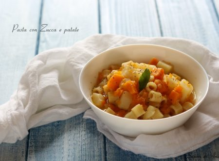 Ricetta Pasta con Zucca e patate