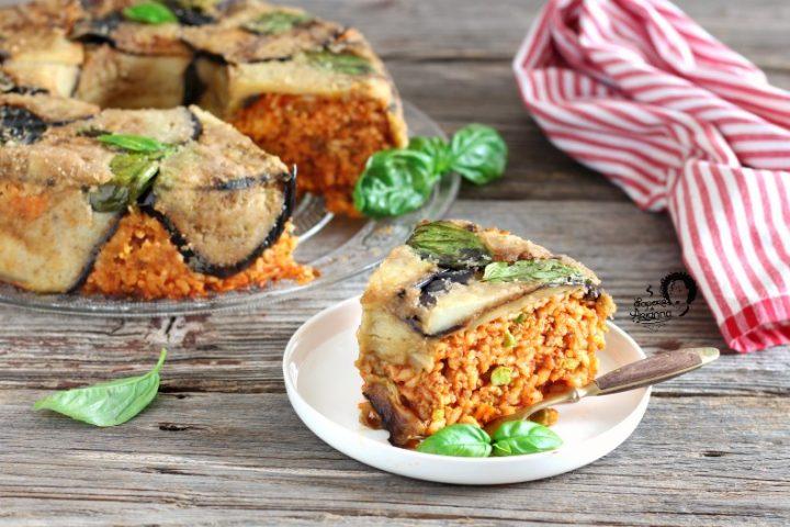 timballo di riso al forno con ragù alla siciliana