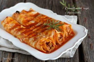Cannelloni al ragù e besciamella