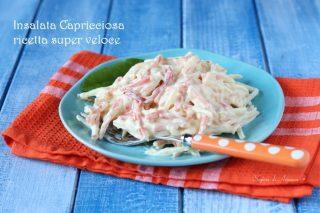 insalata capricciosa ricetta super veloce