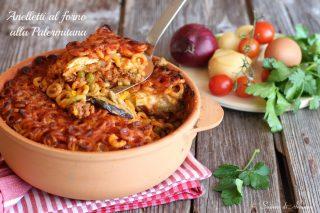 anelletti al forno alla palermitana ricetta originale