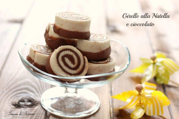 Bagno Nella Nutella.Girelle Alla Nutella E Cioccolato