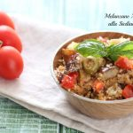 melanzane ammollicate alla siciliana