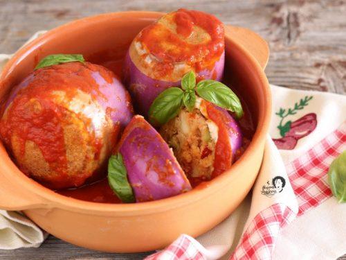 Melanzane ripiene alla siciliana senza carne