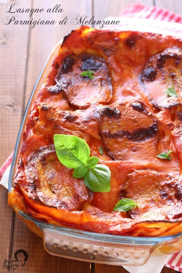 lasagne alla parmigiana di melanzane