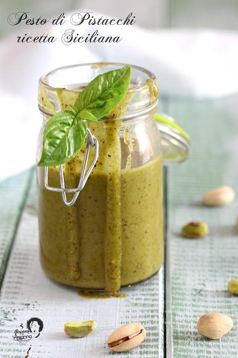 Pesto di pistacchi ricetta siciliana